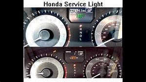 Honda Accord Wrench Light B1