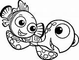 Nemo Squirt Finding Coloring Pages Disney Drawing Sheets Wecoloringpage Super Clipartmag Cartoon sketch template