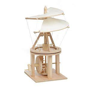leonardo da vinci wooden invention kits helicopter