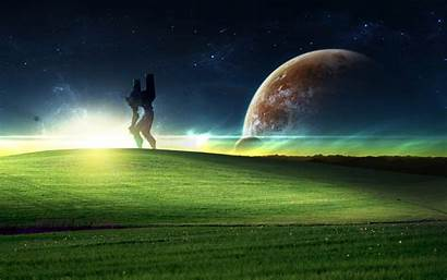 Xp Windows Wallpapers Backgrounds Space Background Version