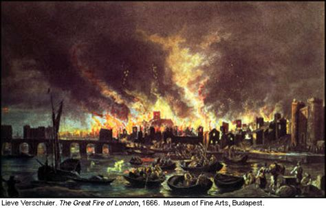 Great Fire Of London  Jane Austen's World