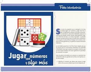 ISSUU Fichero jugar numeros ok etc 2014 by Programa Escuelas de Tiempo Completo Guerrero