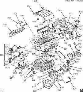 2004 Cadillac Cts Engine Diagram Oil Leak