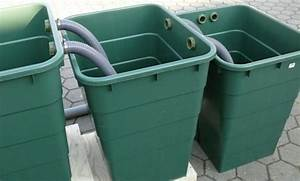 Filter Für Regenwasser Selber Bauen : regentonne rechteckig 300 liter teich filter ~ One.caynefoto.club Haus und Dekorationen