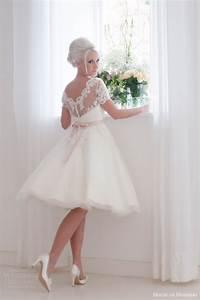 house of brides short wedding dresses high cut wedding With house of brides wedding dresses