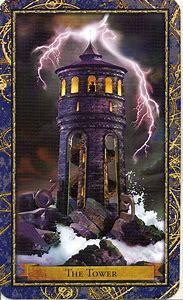 Tarot Card Tower