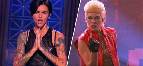 ruby rose youtube channel ruby rose and milla jovovich go head to head in new lip