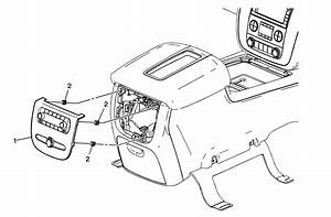 How To Remove The Rear Ac Controls In A 2007 Tahoe