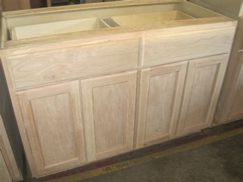 cheap unfinished base cabinets 48 quot inch oak base wholesale kitchen cabinets in north ga