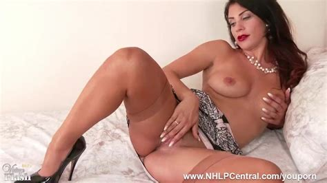 Brunette Roxy Mendez Demonstrates Off Stunning Undergarments And Succulent Huge Jugs As She