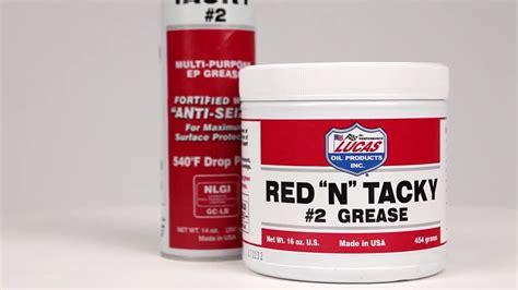 Lucas Oil Red 'n' Tacky Gear Grease (gemuk)