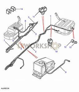Fuel Pipes - Less Sedimentor  130 2 5l 4 Cyl Diesel