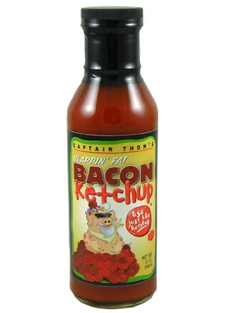 Bacon Flavor Ketchup Flavored Catsup (12 oz bottle)