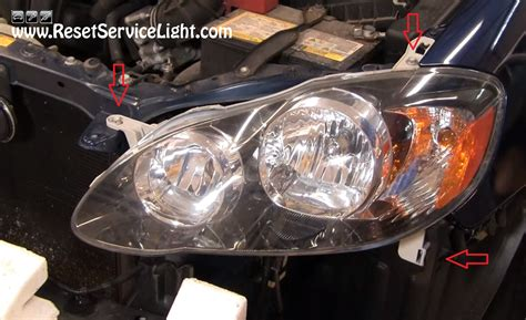 2014 toyota corolla headlight bulb change autos post