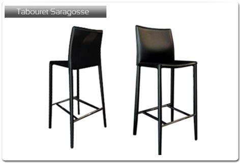 chaise plan de travail tabouret de bar modèle saragosse plan de travail 33 fr
