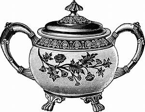Free Clip Art Images - Vintage Teapot | Oh So Nifty ...