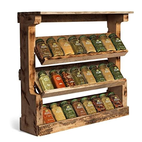 spice rack wall vinopallet wood spice rack organizer wall mounted