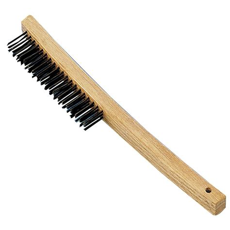 Premier 3 X 19 Rows Bent Handle Wire Brush (12pack)h319