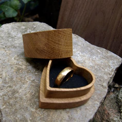 wooden ring box engagement ring box jewelry box wooden