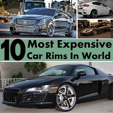 10 Most Expensive Car Rims In The World  Div Top Luxury