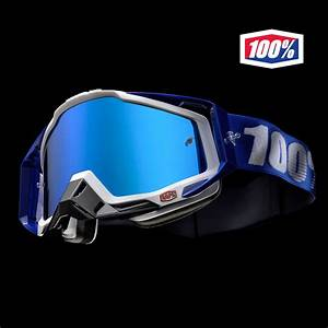 Masque Cross 100% Racecraft Cobalt Blue