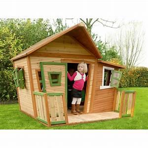Spielhaus Mit Veranda : spielhaus lisa mit boden und veranda kaufen bei obi ~ Frokenaadalensverden.com Haus und Dekorationen