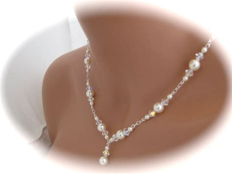 Wedding Jewelry Sets For Brides : Wedding Jewelry Set Ivory Pearl And By Clairesparklesbridal