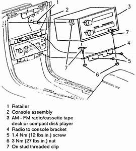 Solved  How To Remove Radio In 1988 Chevrolet Cavalier Z24