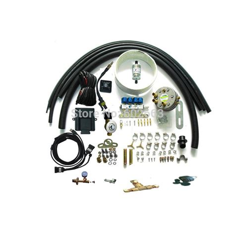 home use petrol to propane lpg sequential injection bi fuel conversion kits for 6 cylinders