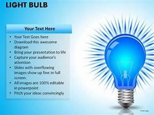 Light Bulb Powerpoint Presentation Slides