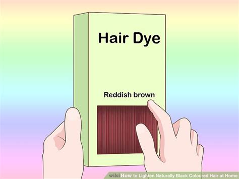 How To Lighten Colored Black Hair Naturally by 3 Ways To Lighten Naturally Black Coloured Hair At Home