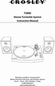 T100d User Manual User Manual