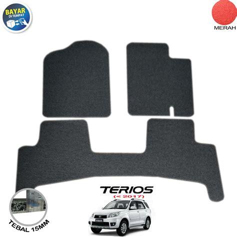 Karpet Mobil Terios cek harga baru karmob karpet mobil karpet mobil mie karpet