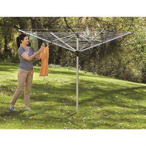 castlecreek outdoor umbrella clothesline  yard