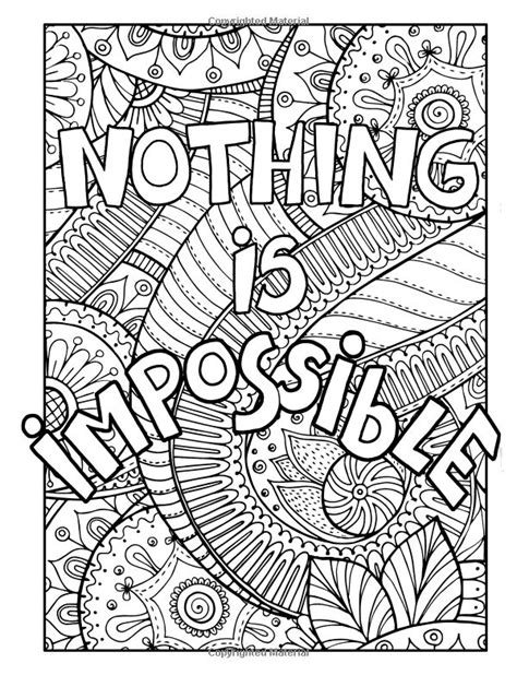 adult coloring book stress relief patterns inspirational