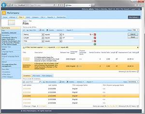 Code On Time  Sample Applications    Sakila  Mysql