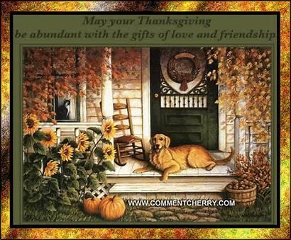 Thanksgiving Friendship Gifts Abundant