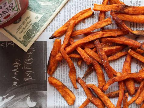 cuisine joue de porc frites de patates douces au paprika facile et pas cher