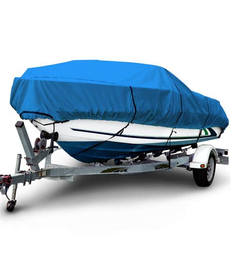 Budge Boat Covers by Budge 600 Denier Boat Cover Fits V Hull