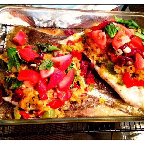 flounder stuffed crab grouper crusted recipe recipes allrecipes