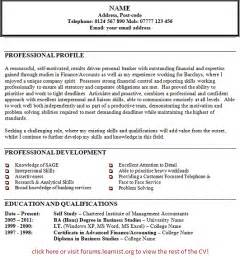 personal statement exles curriculum vitae exles of personal statements of faith images