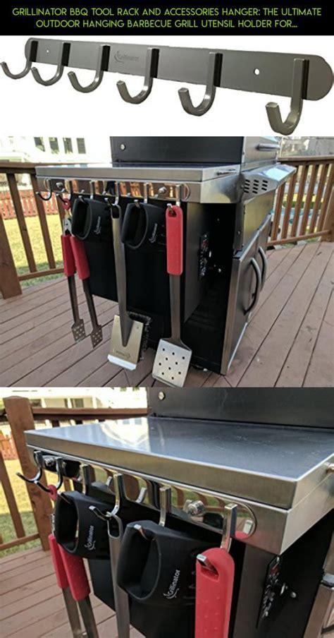 grillinator bbq tool rack  accessories hanger