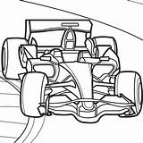 Coloring Pages Race sketch template