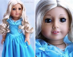 American Girl Doll Blonde Hair Brown Eyes