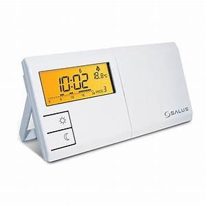 Elektronisches Thermostat Mit Fernfühler : salus elektronisches raumthermostat mit wochenprogramm ebay ~ Eleganceandgraceweddings.com Haus und Dekorationen
