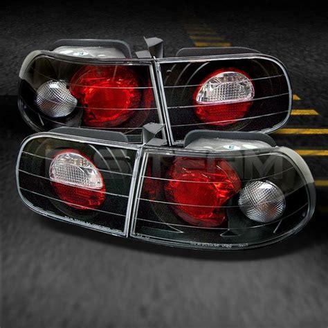 honda civic tail lights for sale buy 92 95 honda civic 3dr hatchback jdm black altezza tail