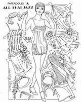 Dolls Ventura Charles Coloring Printable Flapper Adult Pd sketch template