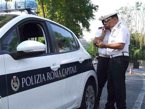 Polizia Stradale Di Ufficio Verbali - polizia roma capitale multe a gog 242 all auto comune di