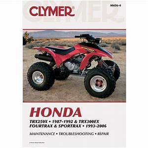 Ebay  Sponsored Clymer Repair Manuals M4564 Honda Trx 250x Fourtrax Trx 300ex