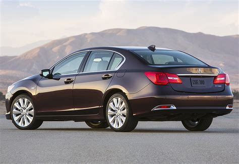 2014 acura rlx sport hybrid sh awd specifications photo